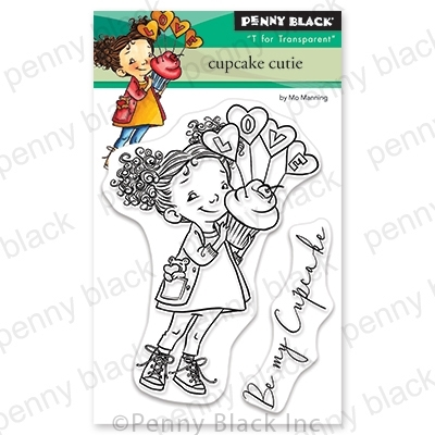 Penny Black Clear Stamps CUPCAKE CUTIE 30-651 zoom image