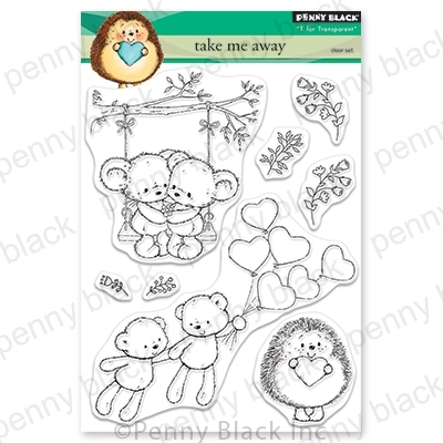 Penny Black Clear Stamps TAKE ME AWAY 30-650 Preview Image
