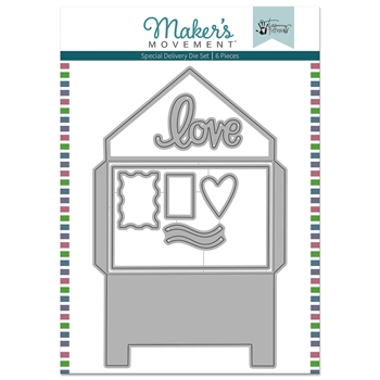 Maker's Movement SPECIAL DELIVERY CARD KIT Die Set mod274