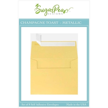 SugarPea Designs CHAMPAGNE TOAST METALLIC Envelopes spd-00410