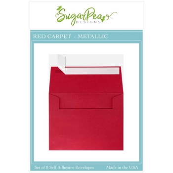 SugarPea Designs RED CARPET METALLIC Envelopes spd-00413