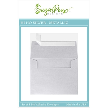 SugarPea Designs HI HO SILVER METALLIC Envelopes spd-00411