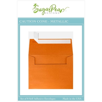SugarPea Designs CAUTION CONE METALLIC Envelopes spd-00409