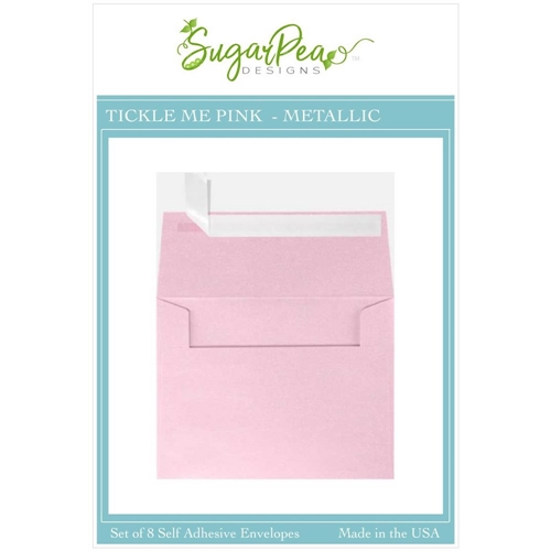 SugarPea Designs TICKLE ME PINK METALLIC Envelopes spd-00414 Preview Image
