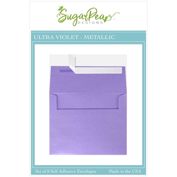 SugarPea Designs ULTRA VIOLET METALLIC Envelopes spd-00415