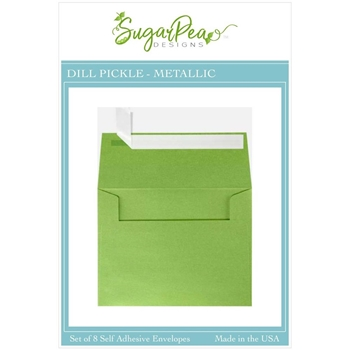 SugarPea Designs DILL PICKLE METALLIC Envelopes spd-00416
