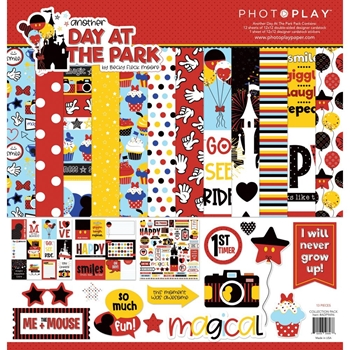 PhotoPlay ANOTHER DAY AT THE PARK 12 x 12 Collection Pack ColorPlay adp9696