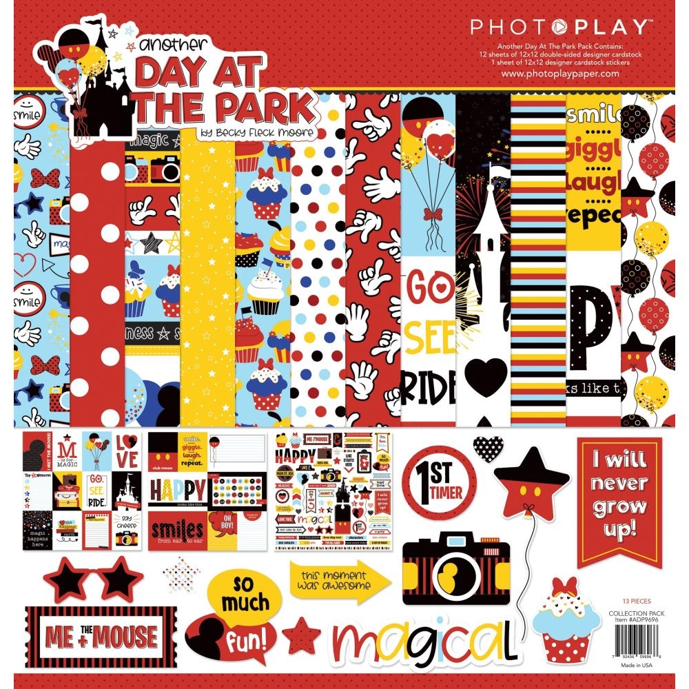 PhotoPlay ANOTHER DAY AT THE PARK 12 x 12 Collection Pack ColorPlay adp9696 zoom image