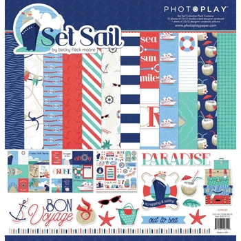 PhotoPlay SET SAIL 12 x 12 Collection Pack set9710