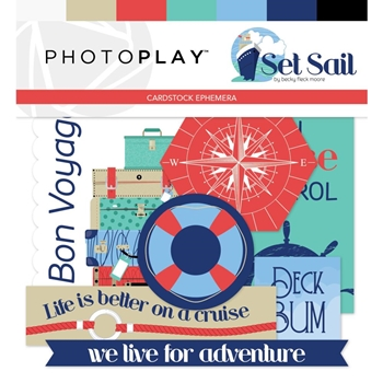 PhotoPlay SET SAIL Ephemera set9711