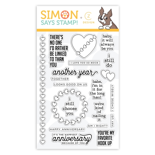 CZ Design Clear Stamps I STILL DO cz47 Love You More Preview Image