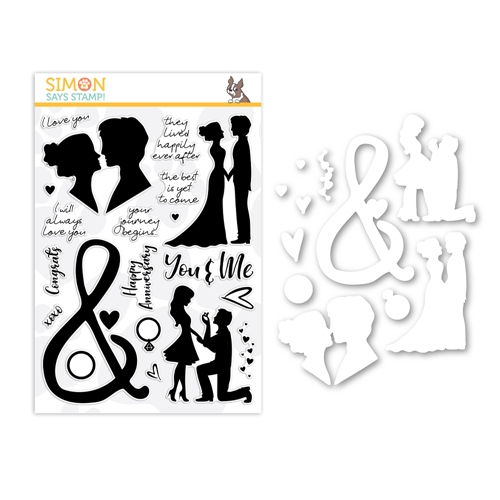 Simon Says Stamps And Dies YOU AND ME FOREVER set366ymf Love You More * Preview Image