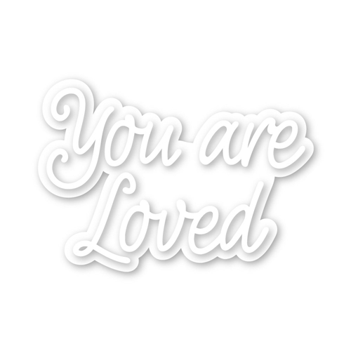 Simon Says Stamp YOU ARE LOVED Wafer Dies sssd111981 Love You More Preview Image