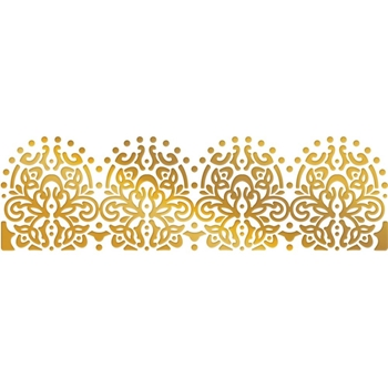Couture Creations LACEY BORDER Hotfoil Plate co727413