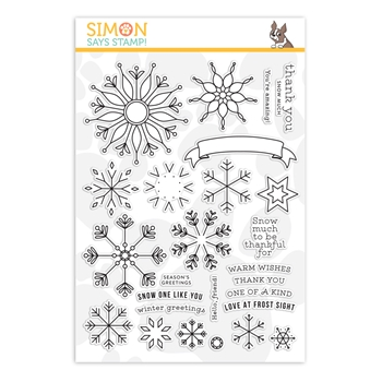 Simon Says Clear Stamps SNOWFLAKE BUILDER sss202082