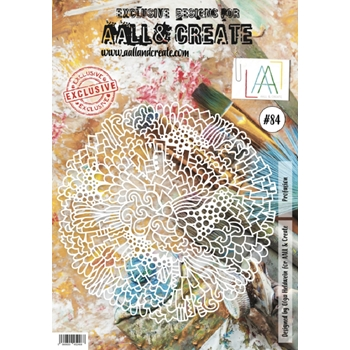 AALL & Create PROFUSION 84 Stencil A4 aal0084