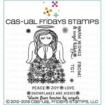 CAS-ual Fridays SNOW ANGEL Clear Stamps CFS1920