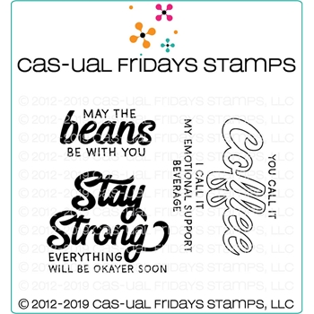 CAS-ual Fridays STAY STRONG Clear Stamps CFS1921