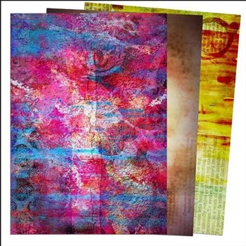 Creative Expressions ABSTRACTION Rice Paper ceasric01