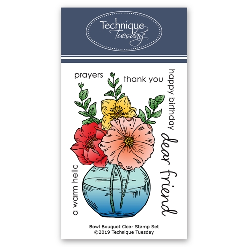 Technique Tuesday BOWL BOUQUET Clear Stamps 02822 Preview Image