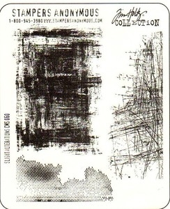 Tim Holtz Cling Rubber Stamps SLIGHT ALTERATIONS Stampers Anonymous CMS060 zoom image
