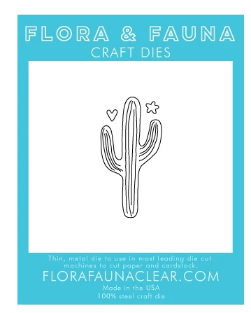 Flora and Fauna LARGE CACTUS Die 30136 Preview Image