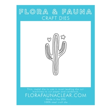 Flora and Fauna LARGE CACTUS Die 30136