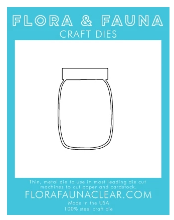 Flora and Fauna OUTLINE JAR Dies 30133 Preview Image