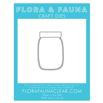 Flora and Fauna OUTLINE JAR Dies 30133