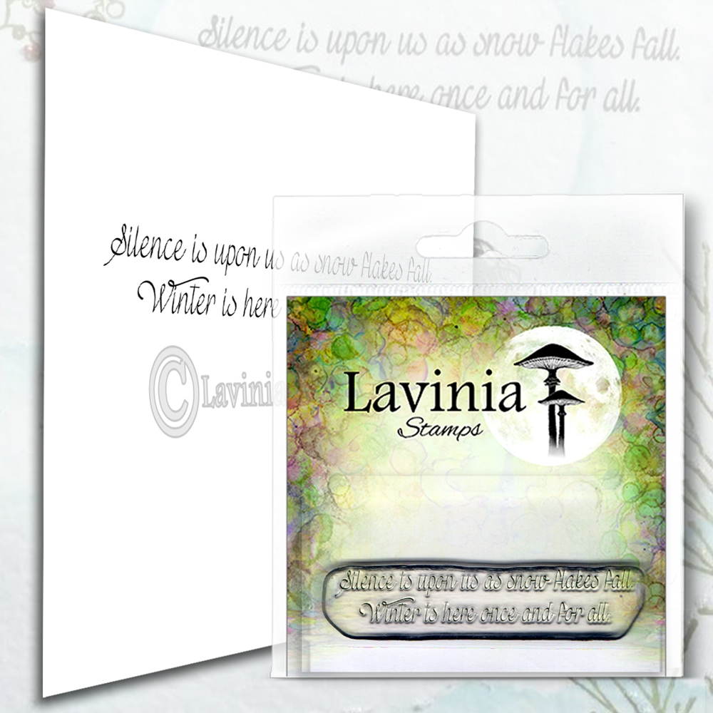 Lavinia Stamps SILENCE Clear Stamp LAV576 zoom image