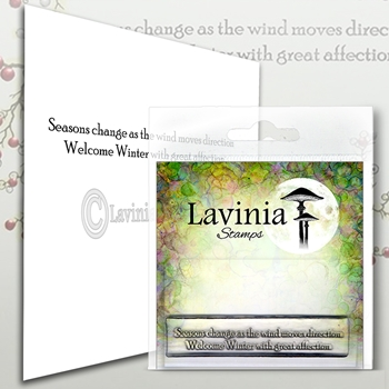 Lavinia Stamps SEASONS CHANGE Clear Stamps LAV575