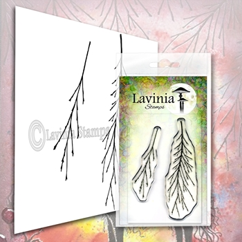 Lavinia Stamps FERN BRANCH Clear Stamps LAV578