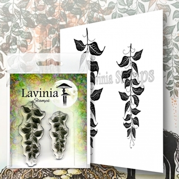 Lavinia Stamps BERRY LEAVES Clear Stamps LAV577