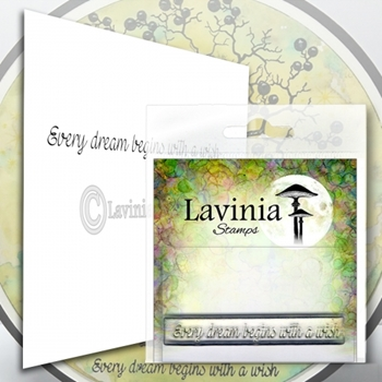 Lavinia Stamps EVERY DREAM Clear Stamp LAV573