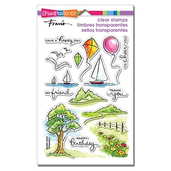Stampendous Clear Stamps SCENIC SAMPLER ssc2001