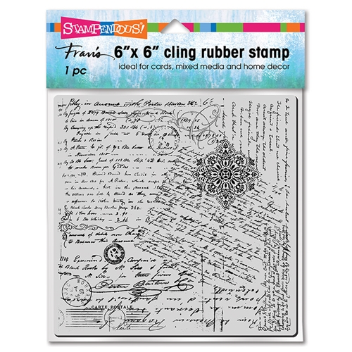 Stampendous Cling Stamp POSTED SCRIPT 6cr021 Preview Image
