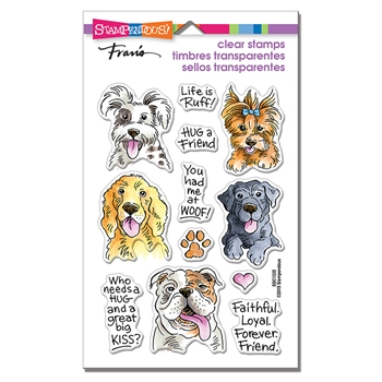 Stampendous Clear Stamps DOG KISSES ssc1335