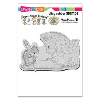 Stampendous Cling Stamp KITTEN CAST hmcp118 House Mouse