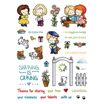 LDRS Creative FRIENDS Clear Stamps 3180