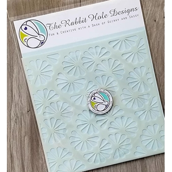 The Rabbit Hole Designs TWISTED SUNSHINE Stencil TRH-010