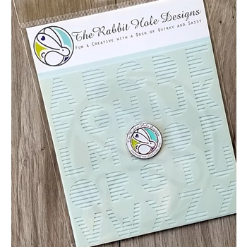 The Rabbit Hole Designs SPELL IT Stencil TRH-009