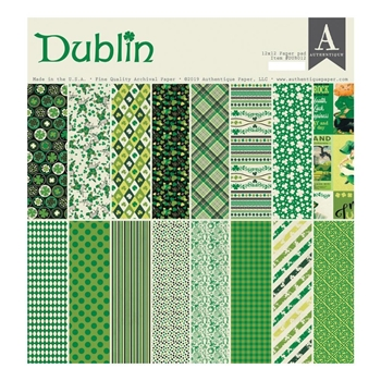 Authentique DUBLIN 12 x 12 Paper Pad dub012