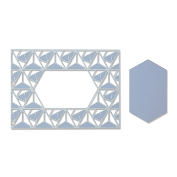 Sizzix GEO LATTICE Thinlits Die Set 664398