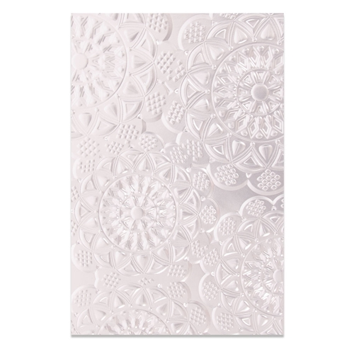 Sizzix DOILY 3D Embossing Folder 662265 Preview Image