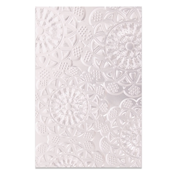 Sizzix DOILY 3D Embossing Folder 662265