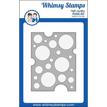 Whimsy Stamps SWISS DOTS A2 Die WSD438