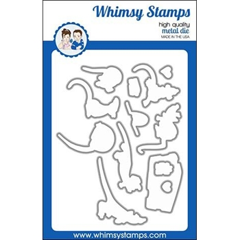 Whimsy Stamps SAY CHEESE Dies WSD436