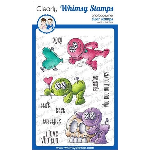 Whimsy Stamps VOO DOO Clear Stamps DP1035 Preview Image