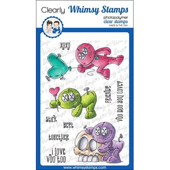 Whimsy Stamps VOO DOO Clear Stamps DP1035