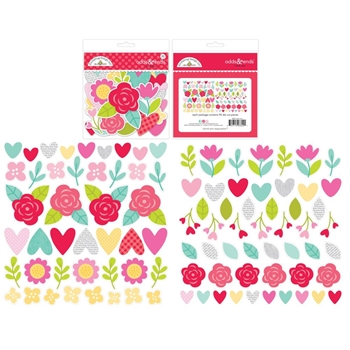 Doodlebug I PICK YOU Odds and Ends Die Cuts Love Notes 6602